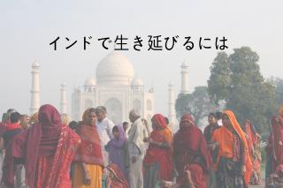 インドで生き延びるには